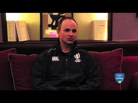 Rencontre avec Jaco Peyper, arbitre Sud Africain de FRANCE-PAYS DE GALLES