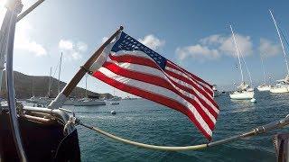 Sailing to Two Harbors, Catalina - Memorial Day Weekend 2018 - Dana 24