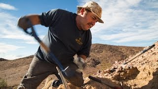 Geode hounding in Imperial County