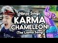 "Ninja sings ""KARMA CHAMELEON"" (Llama Song) | Ninja Fortnite Remix by Endigo"