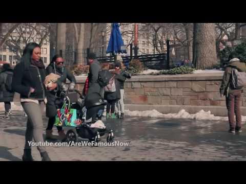 Amerika / New York : Müslüman'ım Bana Güveniyorsan Sarıl (Sosyal Deney) Türkçe Altyazılı