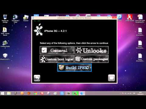 Crear custom firmware con sn0wbreze para preservar baseband!!