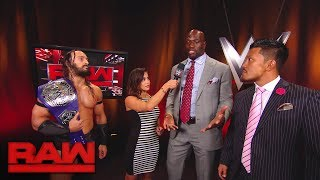 Akira Tozawa invokes his rematch clause: Raw, Aug. 21, 2017