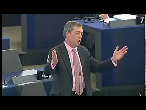 Nigel Farage EU buying its own debt will mean ECB debt crisis