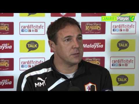 Malky MacKay Previews Trip To Norwich City