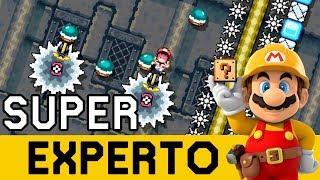 PENSABA QUE LO PEOR HABÍA PASADO 😨 - SUPER EXPERTO NO SKIP | Super Mario Maker - ZetaSSJ