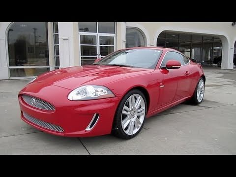 2011 Jaguar XKR Supercharged Start Up. Exhaust. and In Depth Tour
