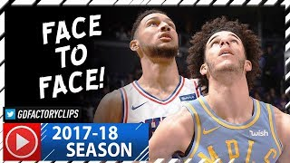 Ben Simmons vs Lonzo Ball Rookies Duel Highlights (2017.11.15) Lakers vs Sixers - Ben OWNS Lonzo!