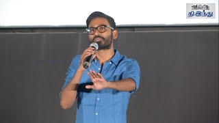 Dhanush Advice to his Fans: Thodari Audio Launch | Tamil The Hindu