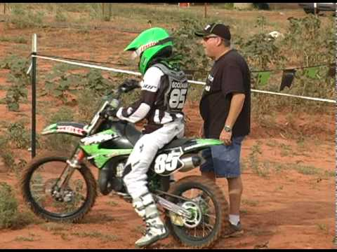 Motocross Racing Kawasaki KX 85 KX 100 Video