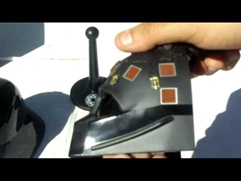 Riddell darth Vader .45 Scale Helmet Review