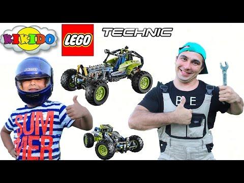 Лего Техник 42037. Внедорожник. Сборка и обзор набора Лего Техник. Lego Technic. Кикидо