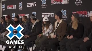 Official Athlete Press Conference [FULL] | X Games Aspen 2018