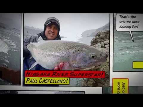 This Week on Dave Mercer's Facts of Fishing THE SHOW - Niagara Falls Steel with Paul Castellano