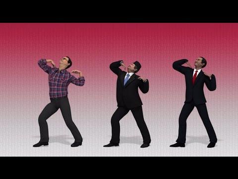 Ahok, Jokowi, dan SBY menari bersama di video parodi KOI Dance