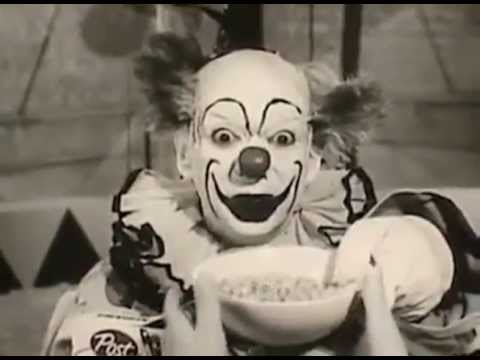 Creepy 1960s Cereal Commercial is now Truly Terrifying