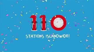 4 New BlueSG stations, adding up to over 110 stations!
