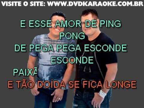 Bruno & Marrone & Edson & Hudson   Amor De Ping Pong