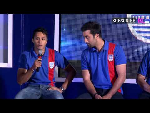 Ranbir Kapoor launches his football club Mumbai City FC Part 4