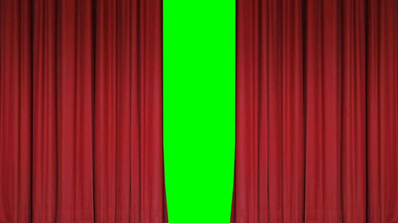 Theater (Stage) Curtains Open/Close - FreeHDGreenscreen Footage ...