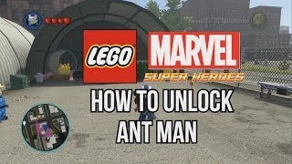 How to Unlock Ant Man - LEGO Marvel Super Heroes