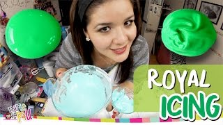 ROYAL ICING / GLASEADO GALLETAS DECORADAS / GLASA REAL