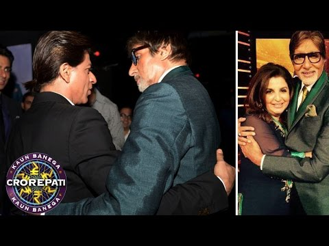 Shahrukh Khan, Deepika Padukone, Abhishek Bachchan on Kaun Banega Crorepati 8