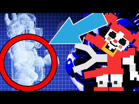Five Nights at Freddy's Sister Location || Funtime Freddy Child LURING And STORAGE TANK FOUND!