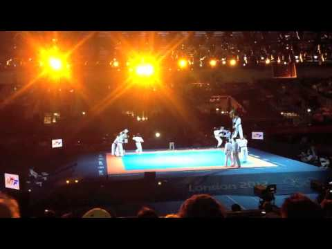 Taekwondo Demonstration at the London 2012 Olympics