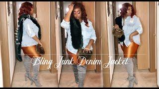 ISSA FASHION DIY: CHAIN BLING JACKET