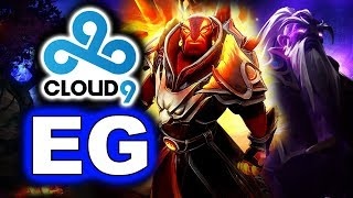 EG vs CLOUD 9 - CLASH OF TITANS! -  DOTA SUMMIT 12 DOTA 2
