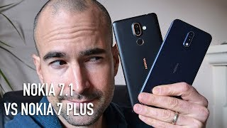 Nokia 7.1 vs Nokia 7 Plus | Side-by-side comparison
