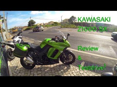 Kawasaki Z1000SX testdrive & Review