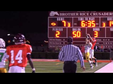 Highlight Reel: 2012 Brother Rice Crusader Football