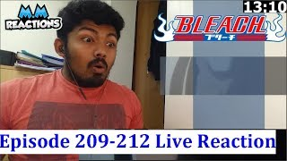 Past! - Bleach Anime Episode 209,210,211&212 Live Reaction