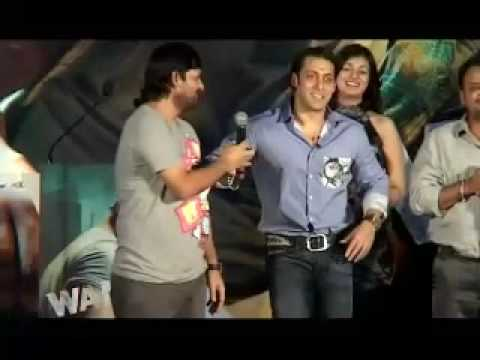 Salman Khan Wanted at the music launch