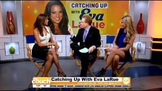 Actress Eva LaRue Stops By The Couch