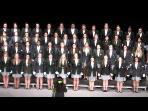 Saint Gertrude High School Song Contest, 2014 - Black and Lime