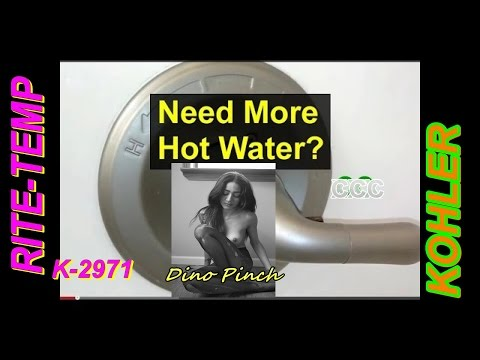 how to fix kohler K-2971 rite-temp shower that leaks part 1