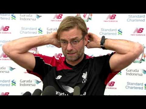 Liverpool boss Jurgen Klopp on Stoke, Mario Balotelli & Daniel Sturridge