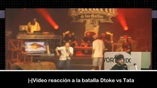 |-| Muphasa y sus compañeros de VORTERIX reaccionan a la batalla DTOKE VS TATA 2012 |-|