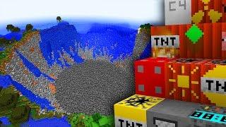 NAJMOCNIEJSZE TNT W MINECRAFT? 25 NOWYCH TNT!
