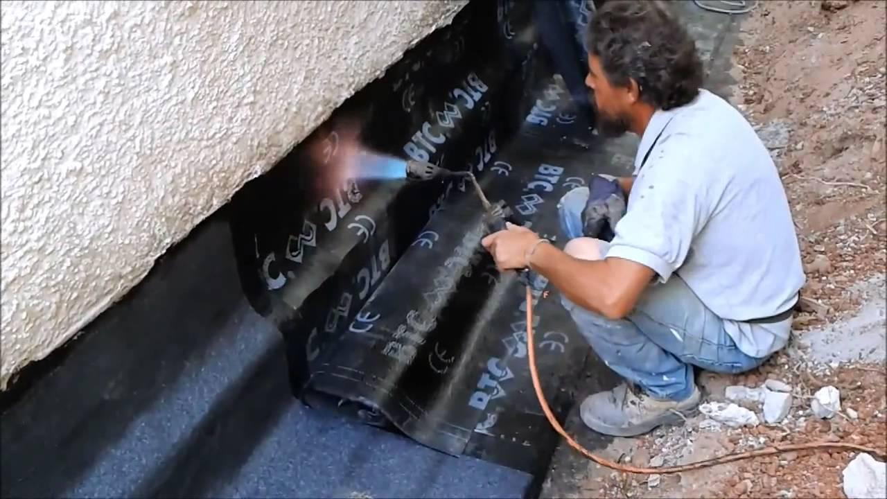 Impermeabilizacion cimentacion youtube - Aislar paredes termicamente ...