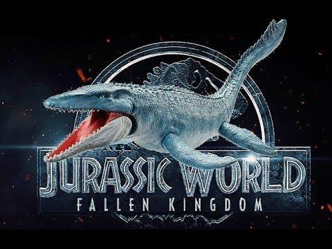 Jurassic World Mattel Mosasaurus Review