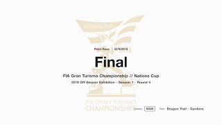 Gran Turismo™SPORT FIA GT Nations Cup Off-Season Exhibition Season 1 Round 4 Onboard