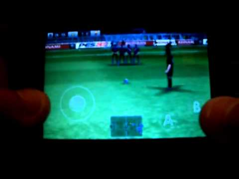PES 2012 para Android - Gameplay [HD] - Samsung Galaxy Fit