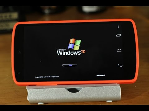 How to Run Windows XP on Android
