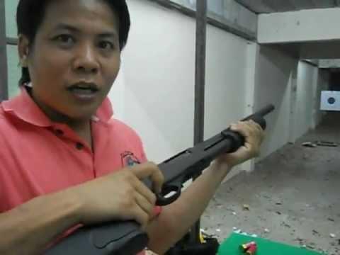 การแก้ไขปืนลูกซอง. / solve