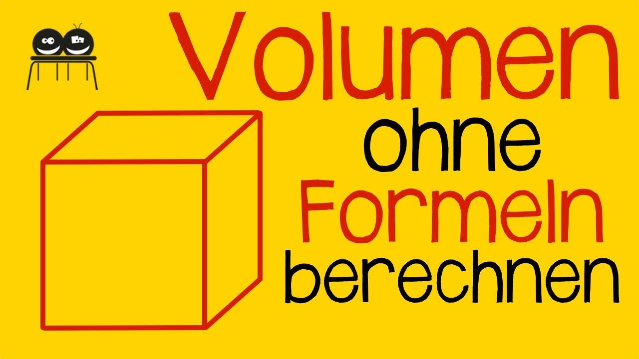 Volumenberechnung Lösungen  Gymnasium Pegnitz