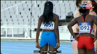 100m Women Final IAAF World Junior Championships Barselona 2012
